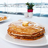 Pancakes week at Skylight restaurant